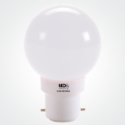 Led Bulb 0 5 Watt White Color Ledfy